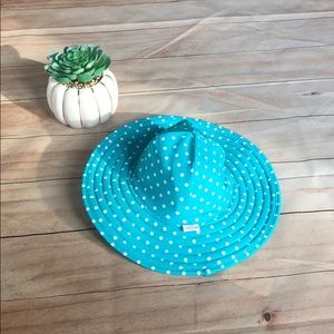 🍭6/$30 Ruffle Butts polka dot swim hat 0-12 m